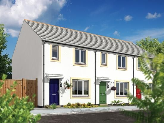 Thumbnail Semi-detached house for sale in Dunmere Road, Bodmin