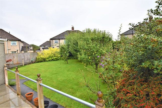 Rear Garden 1 of Lon-Y-Nant, Rhiwbina, Cardiff. CF14