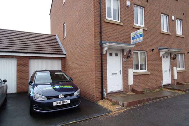 Thumbnail Semi-detached house to rent in 72 Anglian Way, Coventry