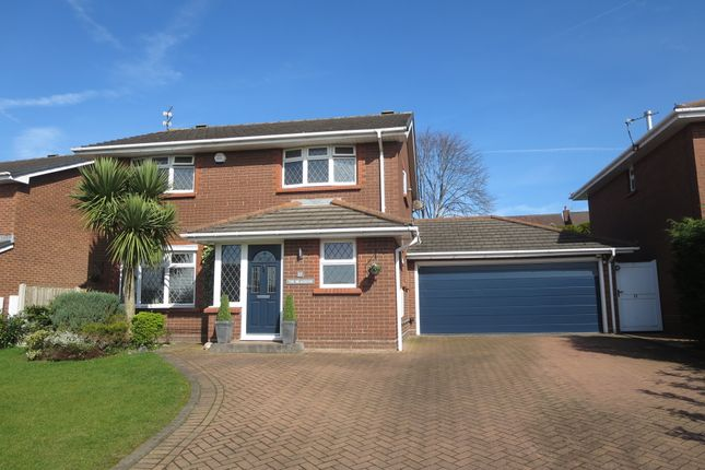 Thumbnail Detached house for sale in The Brackens, Westbury Park, Newcastle