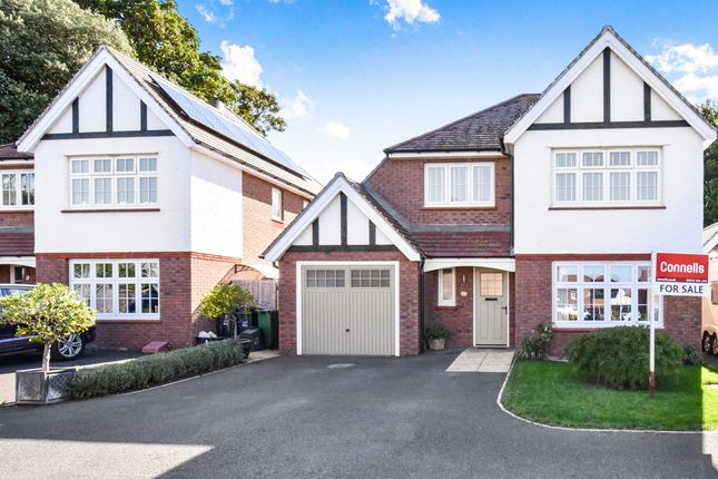 Thumbnail Detached house for sale in Carver Close, Wembdon, Bridgwater