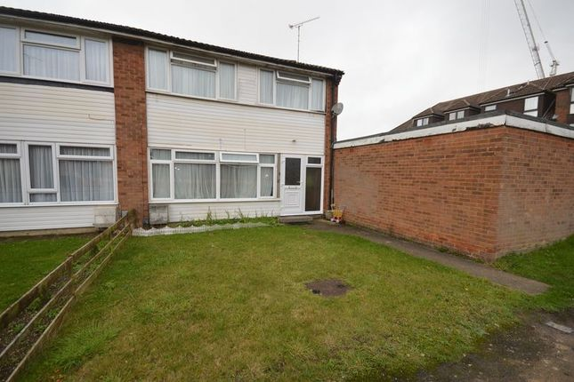 Thumbnail End terrace house to rent in Clarkes Way, Houghton Regis, Dunstable