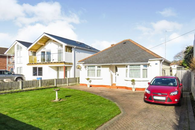 Thumbnail Detached bungalow for sale in Lulworth Avenue, Hamworthy, Poole
