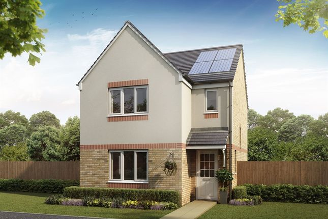 "Thumbnail Semi-detached house for sale in ""The Elgin"" at Penzance Way, Chryston, Glasgow"