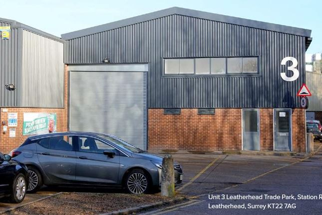 Thumbnail Light industrial to let in Unit 3, Leatherhead Trade Park, Station Road, Leatherhead, Surrey