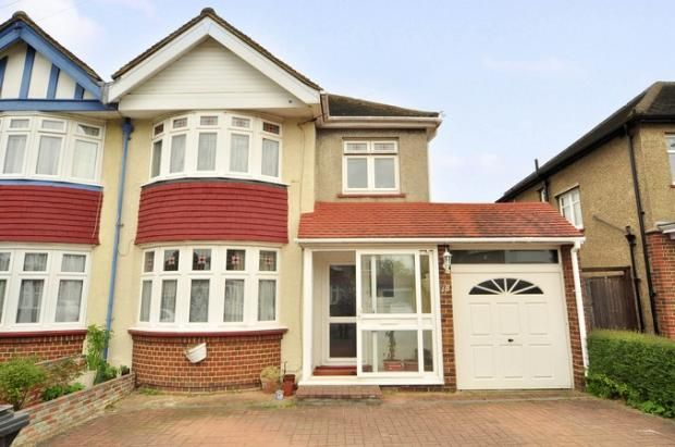 Thumbnail Semi-detached house for sale in Endway, Berrylands, Surbiton