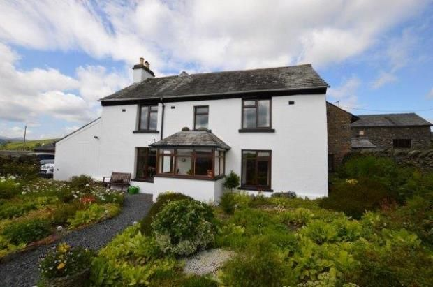 Thumbnail Detached house for sale in South Gateside, Selside, Kendal, Cumbria