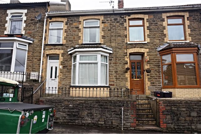 Thumbnail Terraced house for sale in Mcdonnell Road, Bargoed