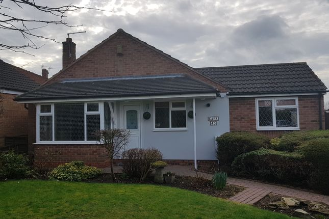 Thumbnail Detached bungalow to rent in Castle Drive, Coleshill