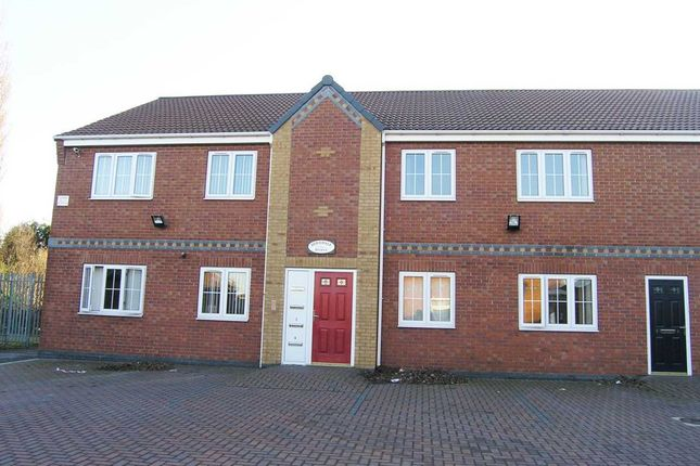 Thumbnail Flat to rent in Dovedale House, St Margarets Walk, Ashby, Scunthorpe