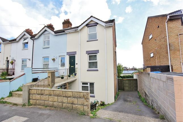 Thumbnail End terrace house for sale in Salisbury Road, Lower Parkstone, Poole