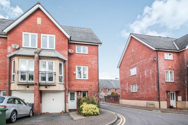 Thumbnail End terrace house for sale in Barquentine Place, Cardiff Bay