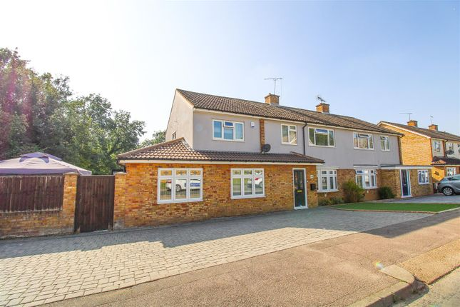 Thumbnail Semi-detached house for sale in Fold Croft, Harlow