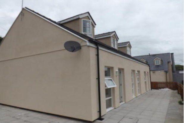Thumbnail Flat to rent in High Street, Llangefni