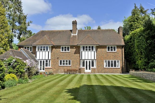 Thumbnail Detached house for sale in Fairway, Merrow, Guildford