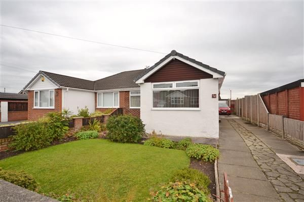Thumbnail Bungalow for sale in Claytongate, Coppull, Chorley