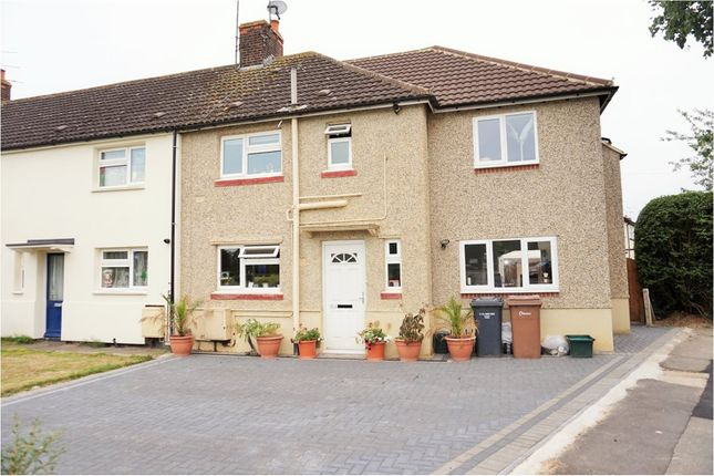 Thumbnail End terrace house for sale in West Avenue, Chelmsford