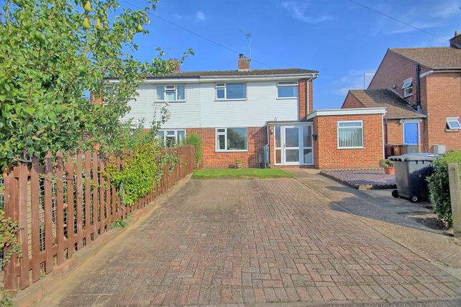 Thumbnail Semi-detached house for sale in Benningfield Road, Widford, Ware