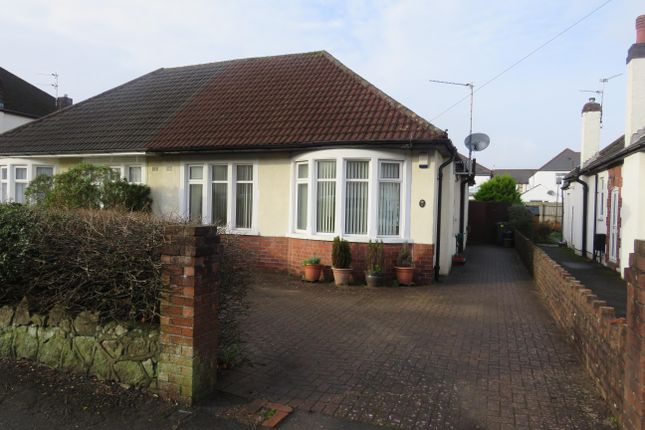 Thumbnail Bungalow to rent in Heol Pant Y Celyn, Cardiff
