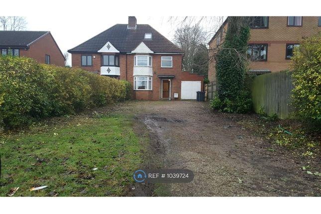 3 bed semi-detached house to rent in Northfield Road, Kings Norton, Birmingham B30