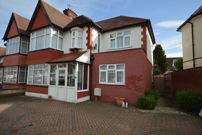 Thumbnail Semi-detached house for sale in Blenheim Gardens, Wembley