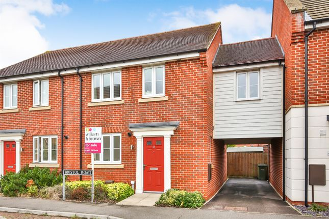 Thumbnail Detached house for sale in Bristol Road, New Costessey, Norwich