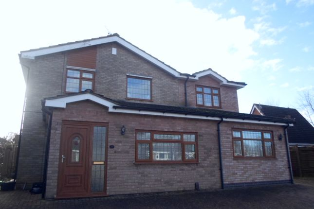 Thumbnail Detached house for sale in Copse Close, Oadby