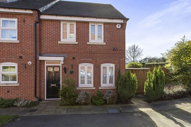 Thumbnail Terraced house for sale in Church View Drive, Old Tupton, Chesterfield