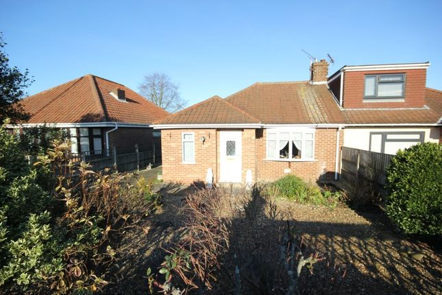 Thumbnail Bungalow for sale in St. Williams Way, Thorpe St Andrew, Norwich