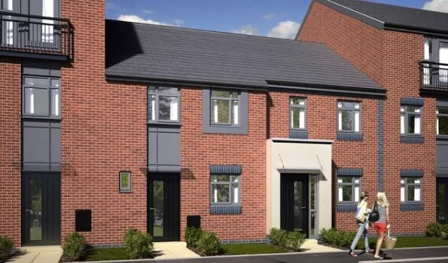 Thumbnail Town house for sale in Leek Road, Stoke-On-Trent, Staffordshire