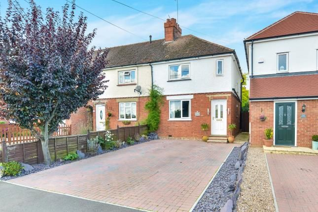 Thumbnail End terrace house for sale in Olney Road, Lavendon, Olney