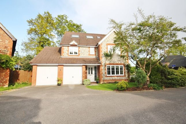 Thumbnail Detached house for sale in Hanoverian Way, Whiteley, Fareham