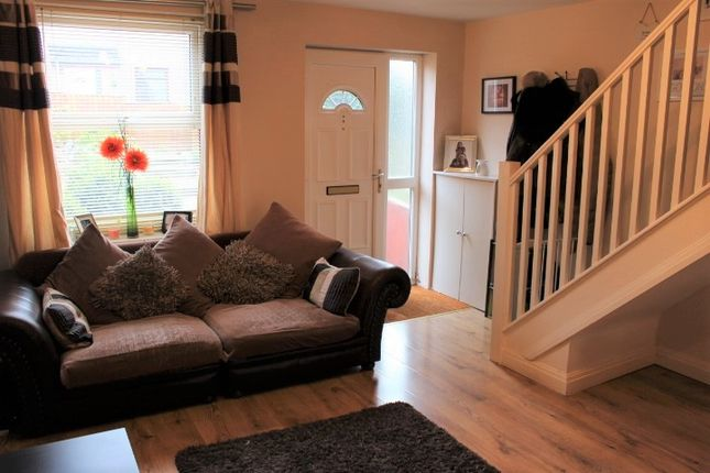 Thumbnail Terraced house for sale in Brosscroft Village, Hadfield, Glossop