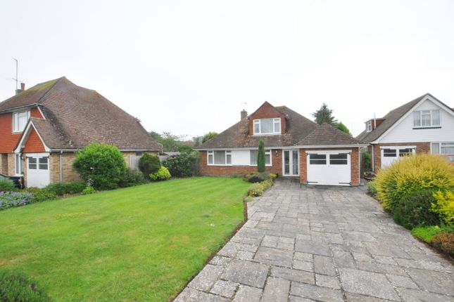 Thumbnail Detached bungalow to rent in Berwick Close, Bexhill-On-Sea