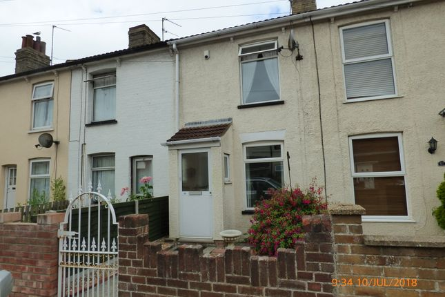 Thumbnail End terrace house to rent in Southwell Road, Lowestoft
