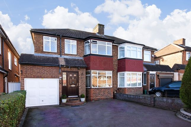 Thumbnail Semi-detached house for sale in Clifton Gardens, Oakwood