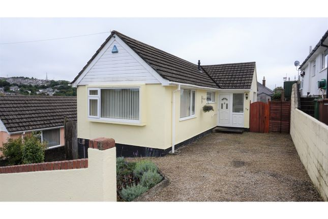Thumbnail Detached bungalow for sale in Reddington Road, Plymouth