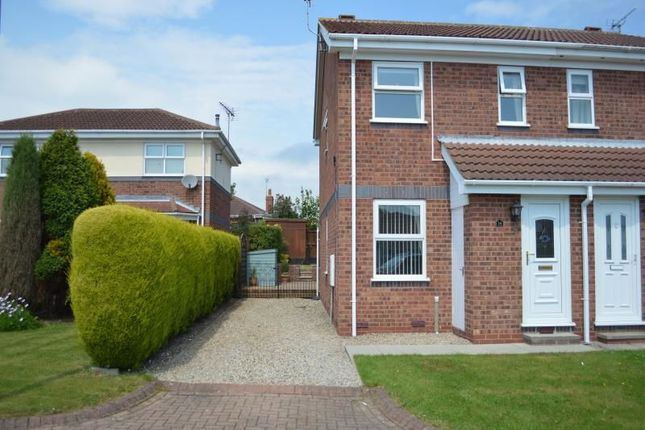 Thumbnail Semi-detached house to rent in Paddock Court, Bridlington