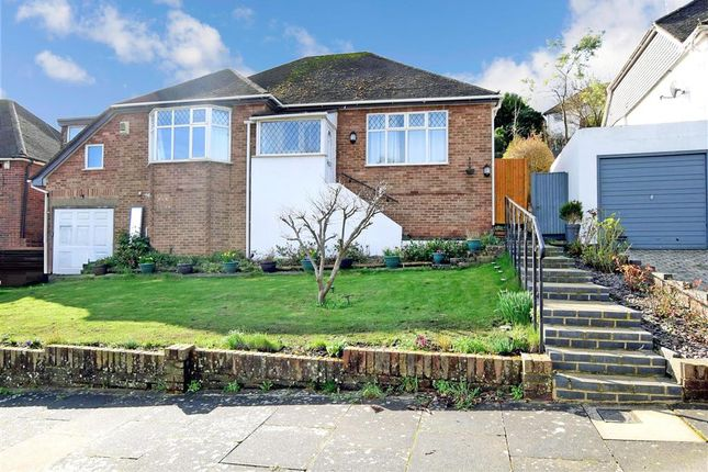 Thumbnail Detached bungalow for sale in Valley Drive, Withdean, Brighton, East Sussex