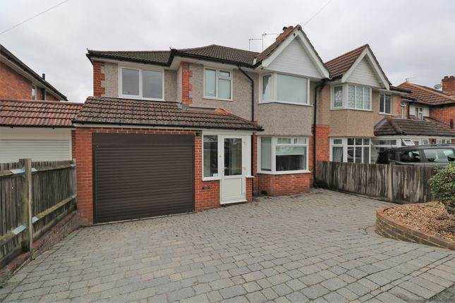 Thumbnail Semi-detached house for sale in Rylandes Road, South Croydon