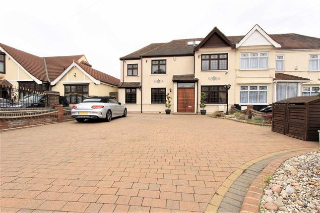 Thumbnail Semi-detached house for sale in Water Lane, Seven Kings, Essex