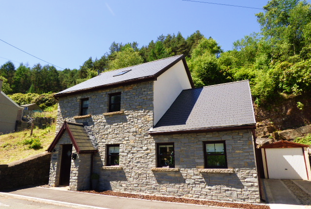 Thumbnail Detached house for sale in Ty Garw, Pont-Y-Rhyl, Bridgend