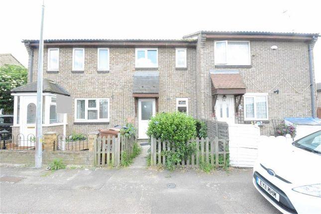 Thumbnail Terraced house to rent in Kipling Avenue, Tilbury, Essex
