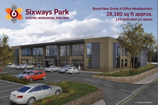 Office to let in Sixways Park, Jct6 M5, Worcester