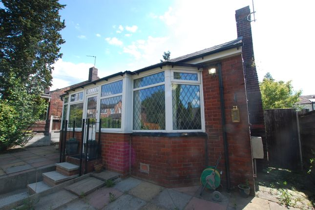 Thumbnail Detached bungalow to rent in Glen Avenue, Swinton, Manchester
