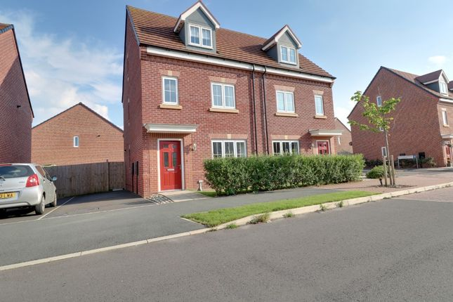 4 bed semi-detached house to rent in Frank Hughes Avenue, Sandbach CW11