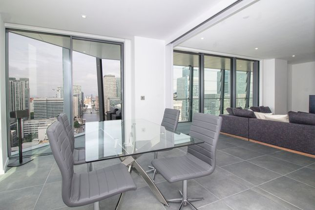 Thumbnail Flat for sale in 3 Dollar Bay Place, Canary Wharf