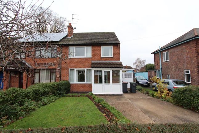 Thumbnail Semi-detached house to rent in Hall Drive, Beeston
