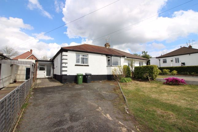 Thumbnail Bungalow to rent in Oundle Avenue, Bushey