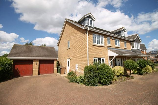 Thumbnail Detached house to rent in Loch Fyne Close, Orton Northgate, Peterborough